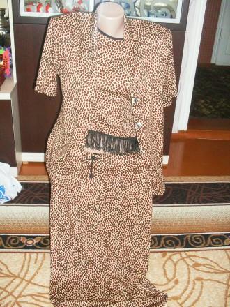Леопардовый костюм. Попільня. фото 1