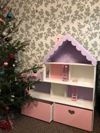 Большой кукольный дом с 2 ящиками. Харьков. фото 1