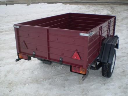 Прицеп новый усиленный с завода по доступной цене. Одесса. фото 1
