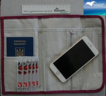 Органайзер дорожный для пластиковых карт и документов Alpitour. Ровно. фото 1