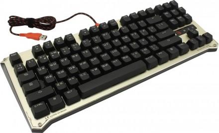 Клавиатура проводная A4Tech Bloody B830 USB Golden (4711421924542). Днепр. фото 1