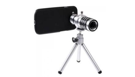 Штатив с оптическим объективом для Samsung  - Объектив добавляет 12-кратное опт. Киев, Киевская область. фото 4