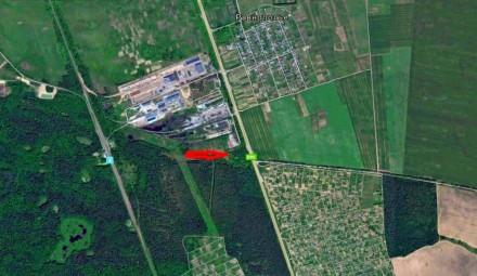 Продам участок 160 соток между поворотом на с. Халявин и Равнополье. Чернигов. фото 1