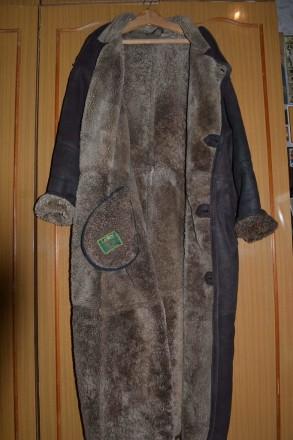 Натуральная мужская дублёнка фирмы LEON ( Турция ) , размер XXL. Киев. фото 1