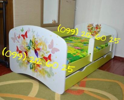 Детская кровать со съемным защитным бортиком! Бесплатная доставка!. Одесса. фото 1