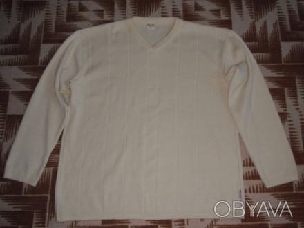 мужской шерстяной свитер большой размер