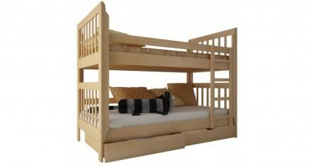 Двоярусне ліжко Берест Заріна 70х190 (BR37). Львов. фото 1