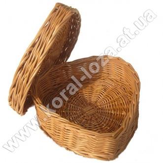 Лоток плетеный из лозы. Черновцы. фото 1