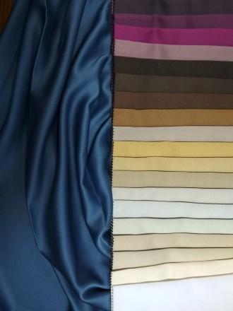 Ткань для штор блекаут. Гладкое сатиновое плетение. Ткань обеспечивает полную не. Киев, Киевская область. фото 2