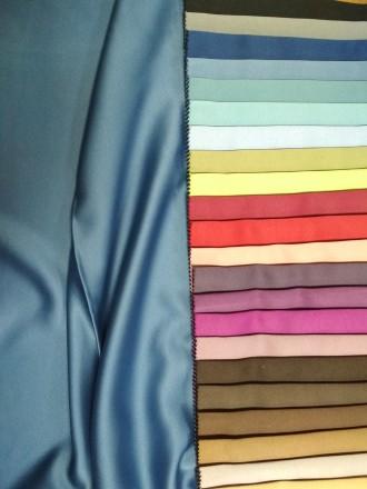 Ткань для штор блекаут. Гладкое сатиновое плетение. Ткань обеспечивает полную не. Киев, Киевская область. фото 3