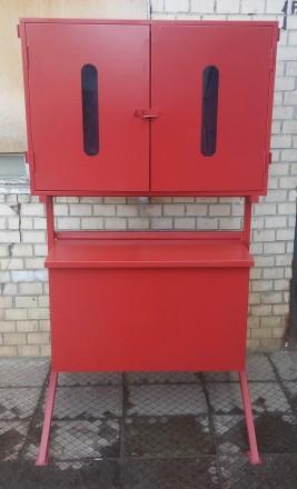 Пост пожарный (Стенд пожарный) с опрокидывающимся ящиком Одесса. Одесса. фото 1