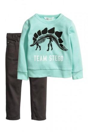 Костюм для мальчика, джинсы, штаны, кофта, толстовка, h&m,германия.. Винница. фото 1