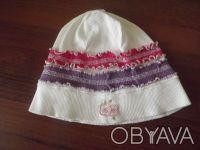 Очень яркая шапочка на девочку в идеальном состоянии. Размер 3-4 года.. Дніпро, Дніпропетровська область. фото 3