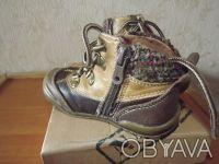Демисезонные ботиночки Beeko на мальчика в отличном состоянии. Натуральная кожа.. Днепр, Днепропетровская область. фото 3