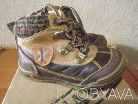 Демисезонные ботиночки. Днепр. фото 1