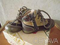 Демисезонные ботиночки Beeko на мальчика в отличном состоянии. Натуральная кожа.. Днепр, Днепропетровская область. фото 4