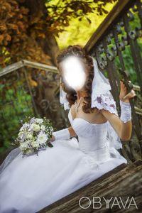 Продам свадебное платье элегантного силуэта. Нежин. фото 1