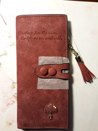 Продам стильный новый кошелек. Славутич. фото 1
