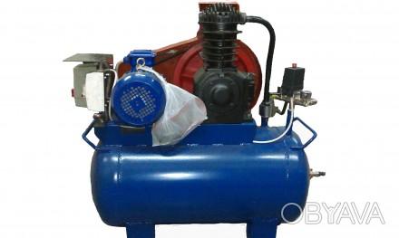Продам новый компрессор СО-243-1. (500 л.мин., 6 атмосфер, ресивер 100 литров, с. Киево-Святошинский, Киевская область. фото 1