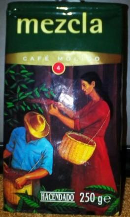 Кофе молотый , кава мелена Hacendado, Markus, Bellarom 250 г. Испания. Черновцы. фото 1