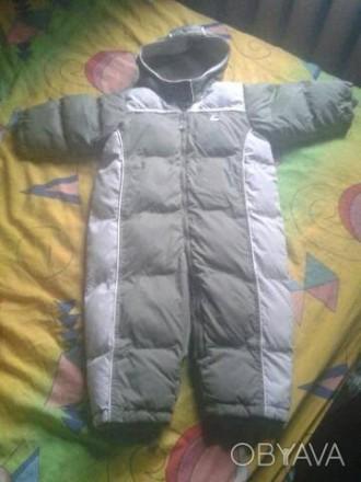 Зимний комбез H&M на возраст 9-12 месяцев. Чернигов. фото 1