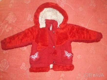 Продам зимний комбинезон на девочку на возраст 2-3 годика. Чернигов. фото 1