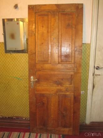 Продам входную дверь дубовую. Чернигов. фото 1