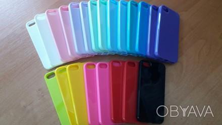 Силиконовый чехол для iPhone 5/5S