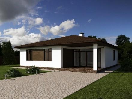 Продам дом 135 м2 от строительной компании Parthenon. Днепр. фото 1