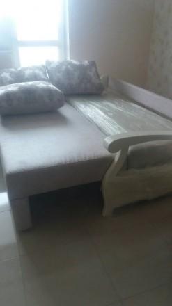 Продам новый в упаковке диван, делали на заказ,в собранном виде 200х80, в спальн. Одесса, Одесская область. фото 4