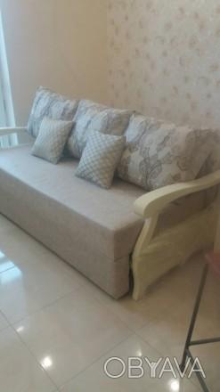Продам новый в упаковке диван, делали на заказ,в собранном виде 200х80, в спальн. Одесса, Одесская область. фото 1