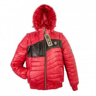 Куртка-трансформер подросток, деми. Энергодар. фото 1