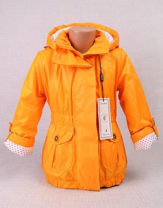 Куртка-плащик для девочки 2-6 лет, аналог Wojcik 4 цвета. Энергодар. фото 1