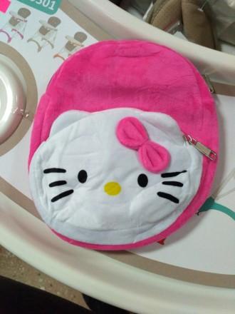 Мягкий рюкзак хеллоу Китти (hello kitty). Полтава. фото 1
