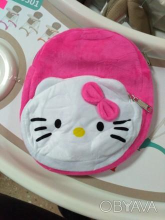Мягкий рюкзак хеллоу Китти (hello kitty), размер 22*20. Полтава, Полтавская область. фото 1