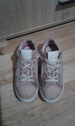 Полностью кожаные кроссовки (кожа внутри и снаружи).  Размер - 33, стелька 21см. Днепр, Днепропетровская область. фото 3