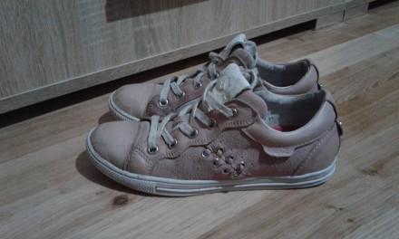 Полностью кожаные кроссовки (кожа внутри и снаружи).  Размер - 33, стелька 21см. Днепр, Днепропетровская область. фото 2