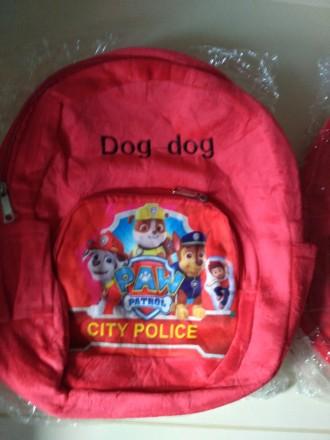 Мягкий рюкзак щенячий патруль гонщик, в наличии. Полтава, Полтавская область. фото 3