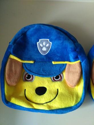 Мягкий рюкзак щенячий патруль гонщик, в наличии. Полтава, Полтавская область. фото 4
