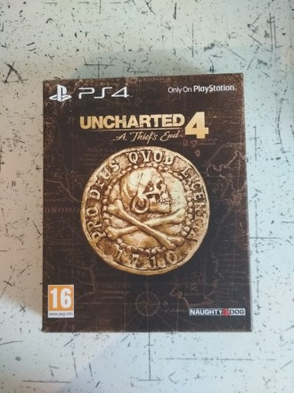 Uncharted 4 A Thiefs End - Special Edition steelbook ( на русском ). Тернополь. фото 1