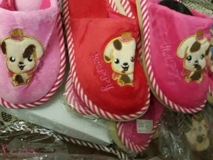 Детские домашние тапочки, 30-35р., с собачками, есть для девочек и для мальчиков. Киев, Киевская область. фото 9