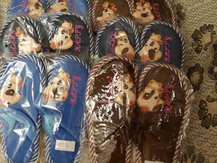 Детские домашние тапочки, 30-35р., с собачками, есть для девочек и для мальчиков. Киев, Киевская область. фото 6