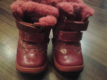 детская обувь на мальчика и девочку, после одного ребёнка, почти новая. На сапож. Кривой Рог, Днепропетровская область. фото 3