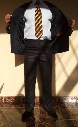Мужской костюм + рубашка и галстук. Фастов. фото 1