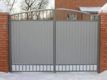 Калитки,ворота. Кривой Рог. фото 1