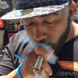 Twisty Glass Blunt - Скляний Блант стильний спосіб для куріння стафу. Днепр. фото 1