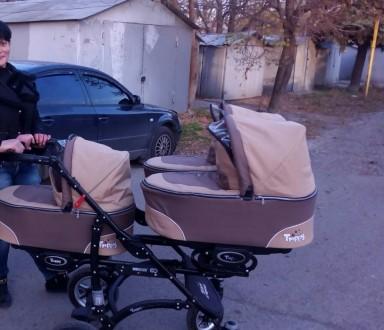 Продам коляску в хорошем состояние) 3 глубокие люльки примерно до 6мес а потом и. Киев, Киевская область. фото 3