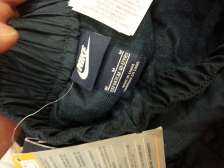 Подростковые утепленные спортивные брюки Nike. Модель изготовлена из прочных вод. Харьков, Харьковская область. фото 7