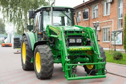 Колёсный трактор John Deere 6220. Житомир. фото 1