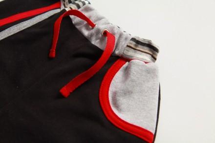 Спортивные брюки для мальчика, можно и для девочек (серые)  с разноцветными ламп. Киев, Киевская область. фото 3
